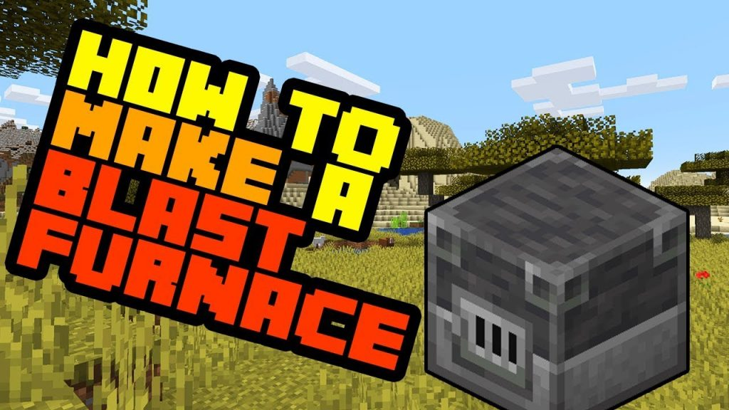 Make a Blast Furnace in Minecraft